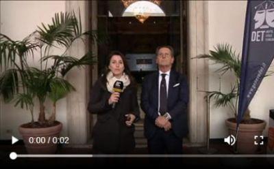 Primocanale intervista il Presidente dell'Ordine degli Avvocati di Genova Alessandro Vaccaro