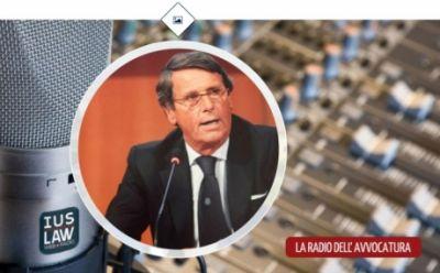 IusLaw Web Radio intervista il Presidente dell'Ordine degli Avvocati di Genova Alessandro Vaccaro